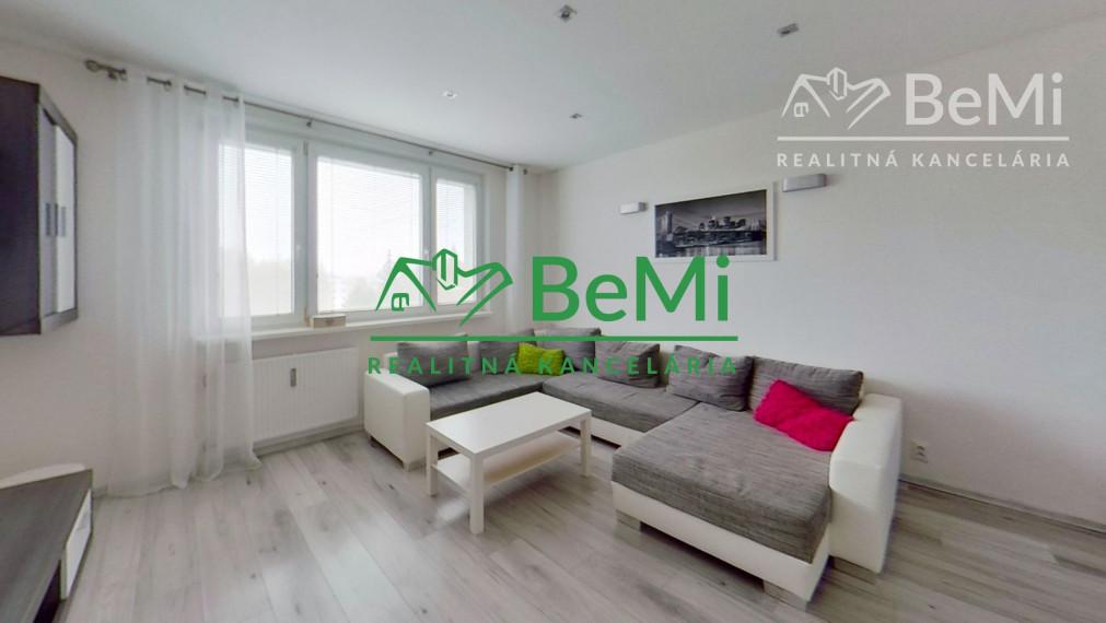 Reality BeMi ponúka na prenájom krásny 2-izbový byt v Prešove.
