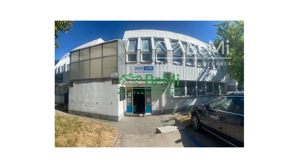 Prenájom kancelárskych priestorov v Petržalke  60 + 9 m2
