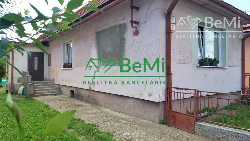 Rodinný dom vo Veľkom Šariši  ID 053-123-TAK - REZERVOVANÉ